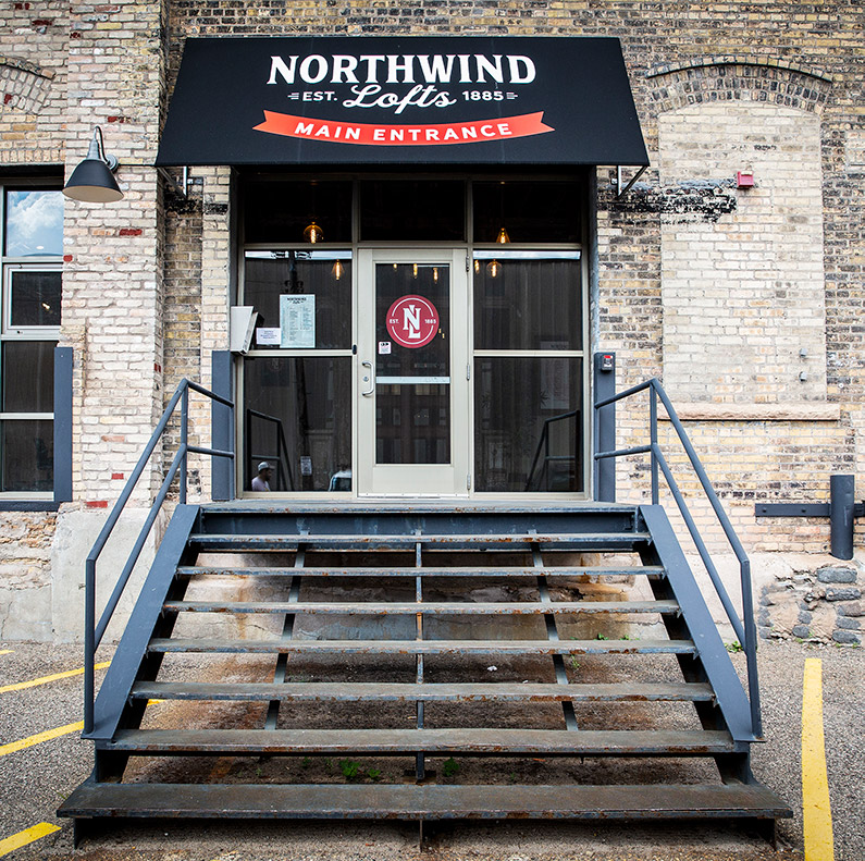 Northwind Lofts Entrance